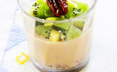 Ginger Rice Panna Cotta